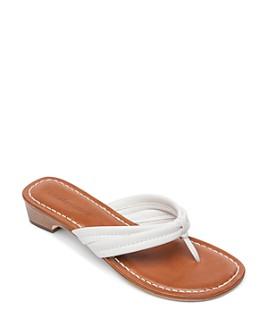 Bernardo - Women's Miami Leather Thong Sandals