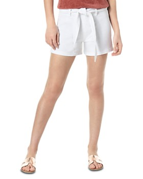 Joe's Jeans - The High Rise Belted Denim Shorts in Valerie