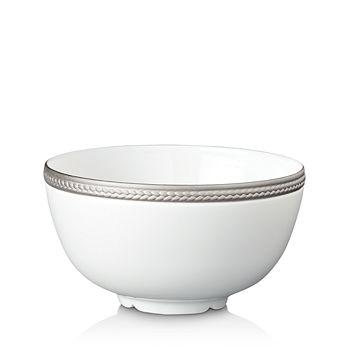 L'Objet - Corde Platinum Soup/Cereal Bowl
