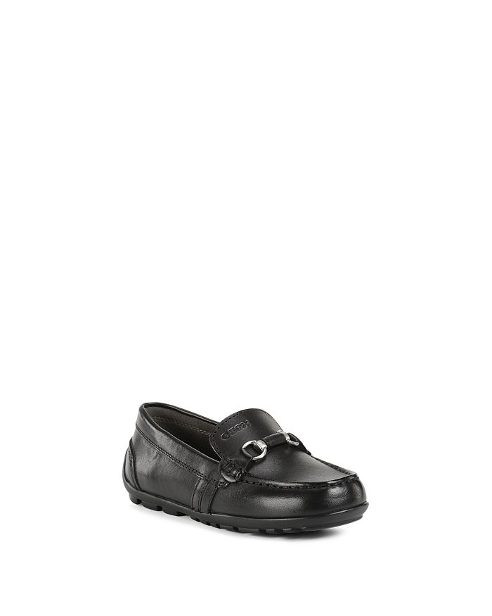 Geox - Boys' J New Fast Buckle-Embellishment Leather Slip-Ons - Toddler, Little Kid, Big Kid