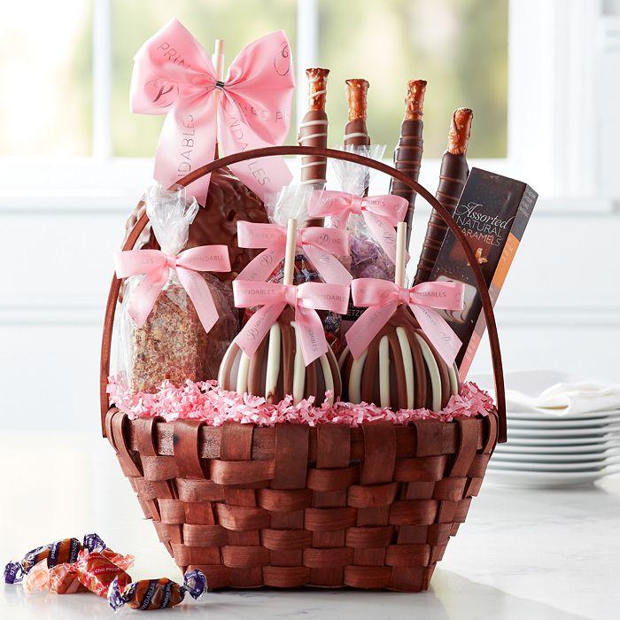 Mrs Prindables - Grand Spring Caramel Apple Gift Basket