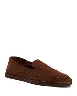 Aquatalia - Men's Nick Suede Slip-On Shoes