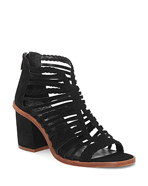 Vince Camuto Sandals WOMEN'S KESTAL LEATHER HIGH-HEEL SANDALS