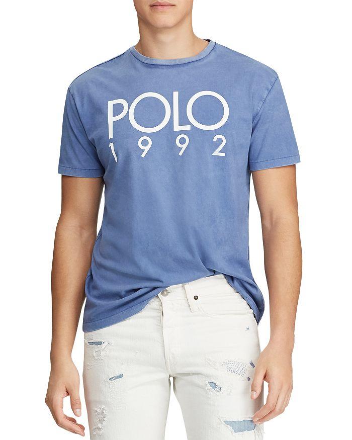 8fd1c72fdc Polo Ralph Lauren Custom Slim Fit Graphic Tee | Bloomingdale's