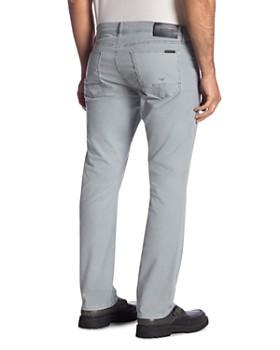 Hudson - Blake Straight Slim Fit Jeans in Steel Blue