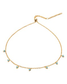 "Gorjana - Cleo Station Adjustable Bracelet, 12"""