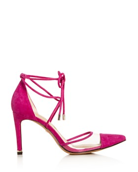 Kenneth Cole - Women's Riley Ankle-Tie Cap-Toe Pumps