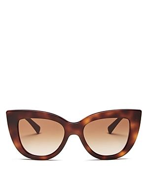 Valentino Women\\\'s Oversized Cat Eye Sunglasses, 51mm-Jewelry & Accessories