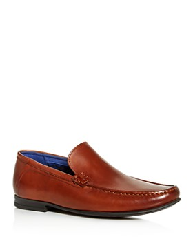 0bae6df5c Ted Baker - Men s Lassil Leather Moc-Toe Loafers ...