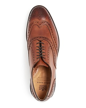 Cole Haan - Men's Kneeland Leather Wingtip Brogue Oxfords
