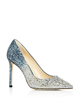 Jimmy Choo - Women's Romy 100 Ombré Glitter Pointed-Toe Pumps