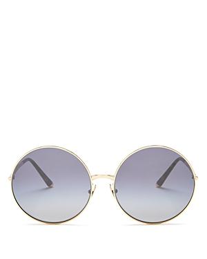 Dolce & Gabbana Women's Oversized Round Sunglasses, 63mm