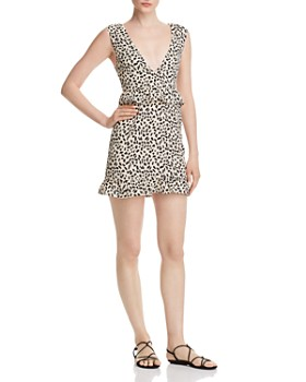 Nightwalker - Elsa Leopard-Print Mini Dress