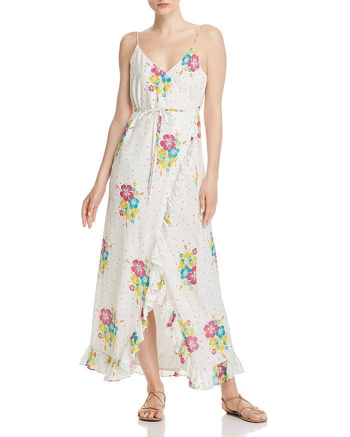 All Things Mochi - Melanie Silk Maxi Dress