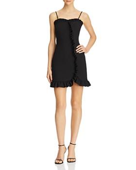 LIKELY - Natalie Ruffled Mini Sheath Dress