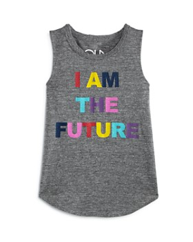CHASER - Girls' I Am The Future Tank - Little Kid, Big Kid