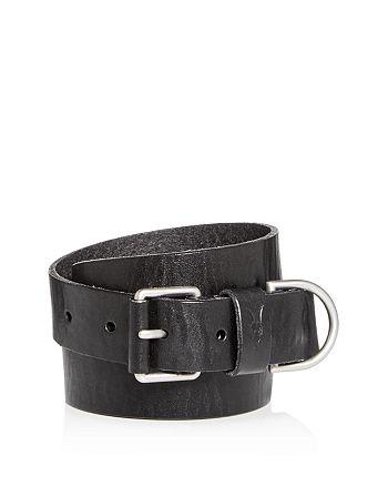 ALLSAINTS - Men's D-Ring Leather Belt
