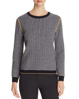Max Mara - Colle Houndstooth Sweater