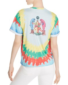 Alice and Olivia - Wayne Tie-Dye Band Tee