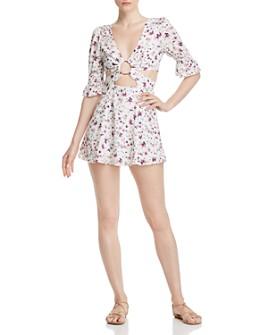 Nightwalker - Charlie Floral Mini Dress
