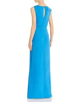 BCBG - Ruffled Georgette Gown