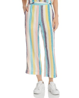 Splendid - x Gray Malin St. Barths Striped Wide-Leg Pants