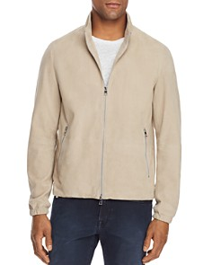 Michael Kors - Perforated Suede Jacket - 100% Exclusive