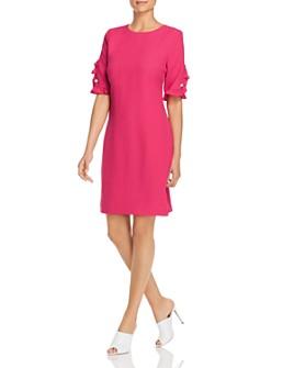 KARL LAGERFELD Paris - Ruffle Sleeve Dress