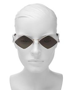 Saint Laurent - Women's Geometric Sunglasses, 55mm