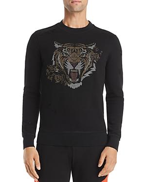 Antony Morato Tiger-Embellished Sweatshirt
