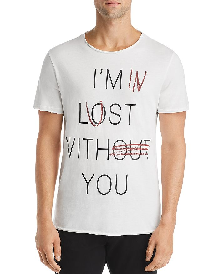 Antony Morato - Lost Without You Graphic Tee