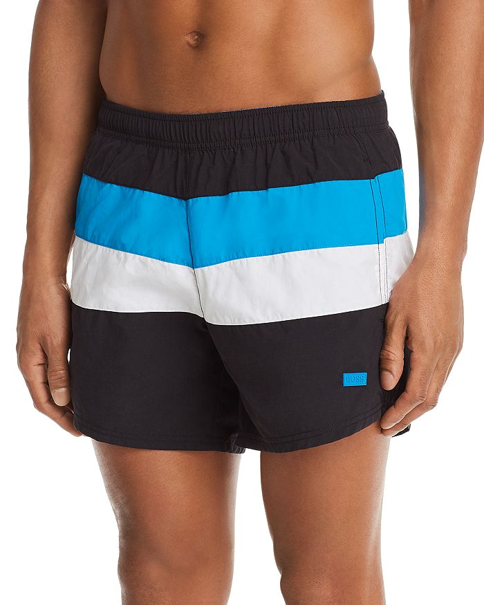 5e826685 BOSS Hugo Boss Filefish Color-Block Swim Shorts | Bloomingdale's