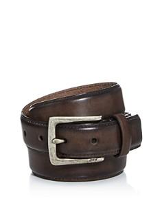 John Varvatos Star USA - Men's Distressed Leather Belt