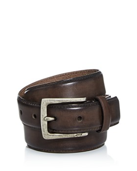 John Varvatos Star USA - Men's Distressed Leather Belt