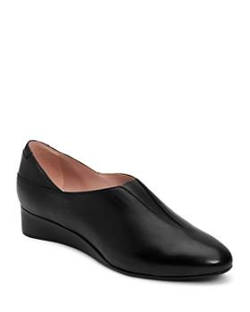 8bf14a9de04f Taryn Rose - Women s Carmela Nappa Leather Slip-On Flats ...