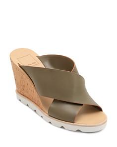 Dolce Vita - Women's Lida Leather Wedge Sandals