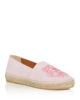 8762c0236b Kenzo - Women's Tiger-Embroidered Espadrille Flats ...