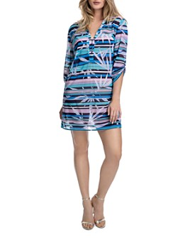 Profile by Gottex - Palm Beach Shirt Dress Swim Cover-Up