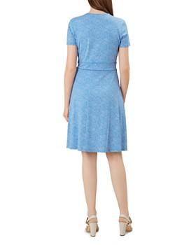 HOBBS LONDON - Darcie Piped Dot Print Dress