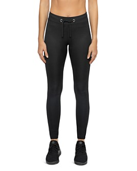 KORAL - Duke High-Rise Rib-Knit Leggings