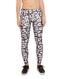 Terez - Love Leopard Print Leggings