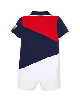 Ralph Lauren - Boys' Mesh Polo Shortall - Baby