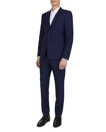 The Kooples - Micro-Houndstooth Slim Fit Suit