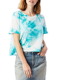ALTERNATIVE - Tie-Dye Cropped Tee