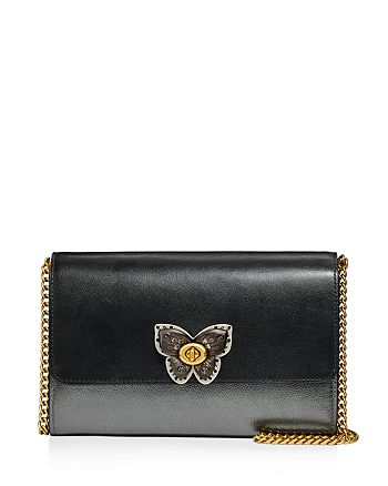 COACH - Marlow Butterfly Turn-Lock Convertible Crossbody Clutch