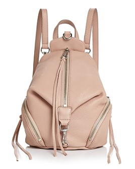 Rebecca Minkoff - Julian Convertible Mini Leather Backpack