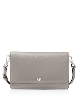 MICHAEL Michael Kors - Leather Smartphone Crossbody