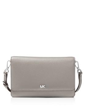 e2ae25d044c5 MICHAEL Michael Kors - Leather Smartphone Crossbody ...