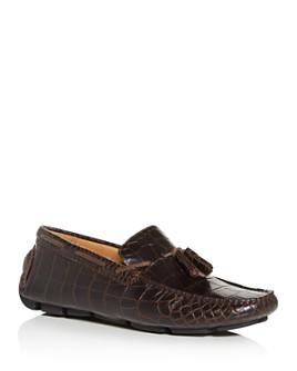 The Men's Store at Bloomingdale's - Men's Croc-Embossed Moc-Toe Drivers - 100% Exclusive