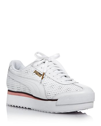 PUMA Women's Roma Amor Perforated Platform Sneakers ...